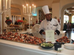 Stone crab claws!!!! All you can eat, stone crab claws!!