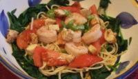 Salad Saturday #8: Italian pasta with shrimp