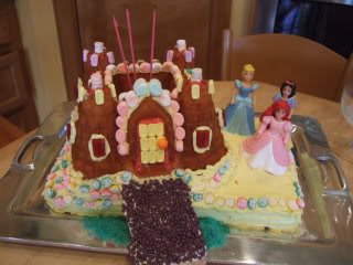 Castle cake, princess castle cake, princess,