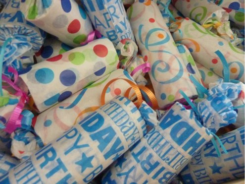 Easy Inexpensive Recycled Party Favor
