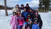 4 Family ski trip to AngelFire, New Mexico