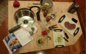 Beef Lemon Pasta Salad overview