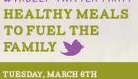 Healthy Meals to Fuel the Family Twitter Party Tuesday Night