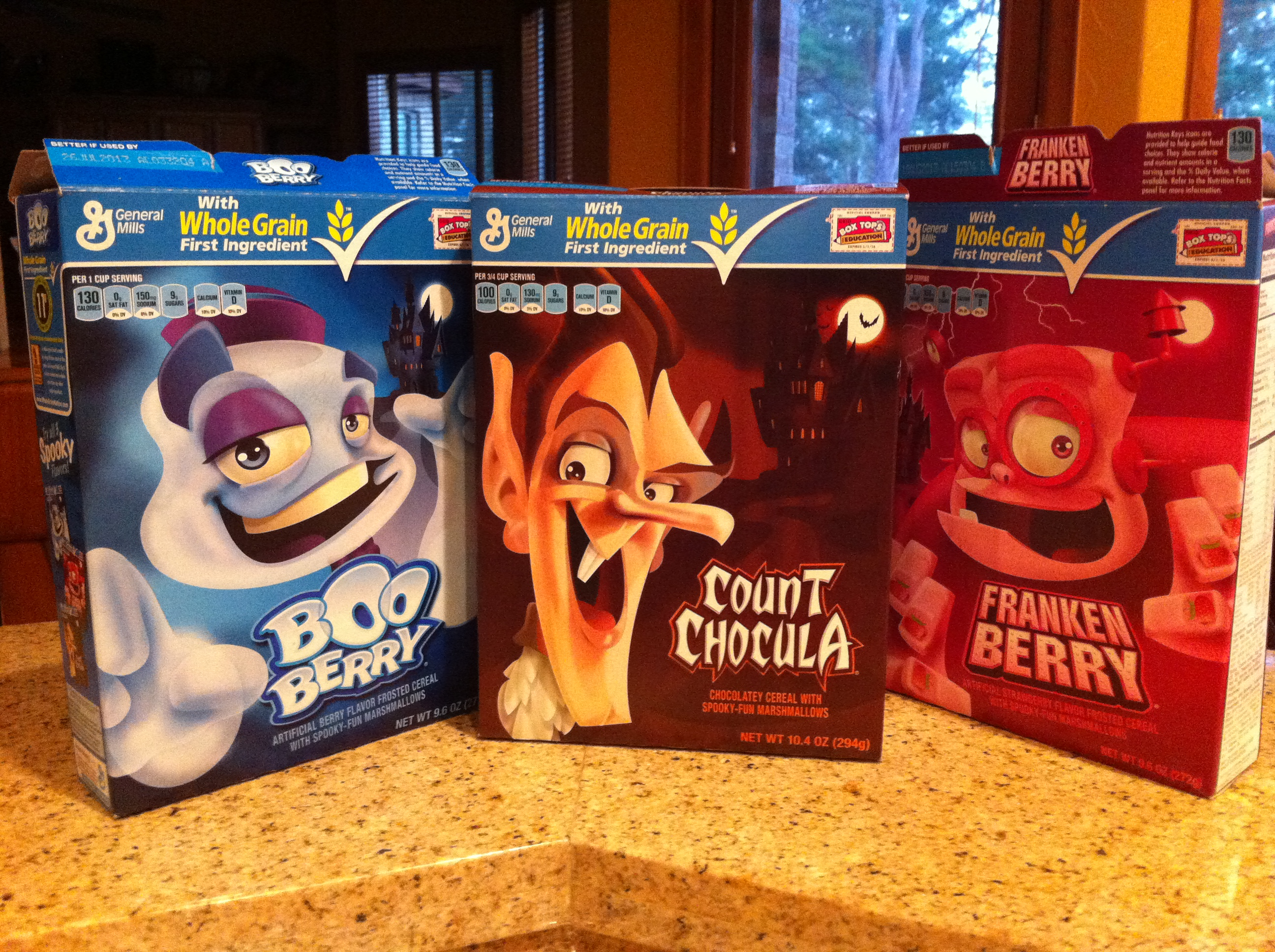 Halloween cereal, anyone? - Mom's Toolbox