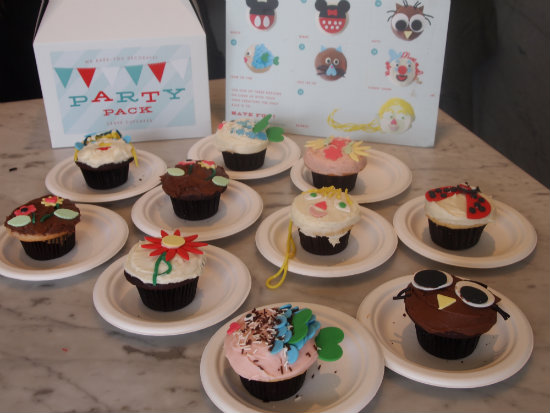 Cupcake Party In A Box From Crave Cupcakes Houston