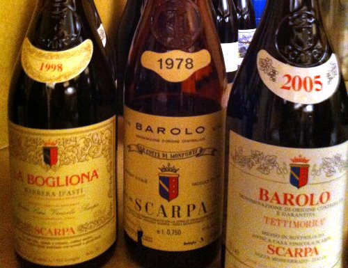 Wines of Scarpa