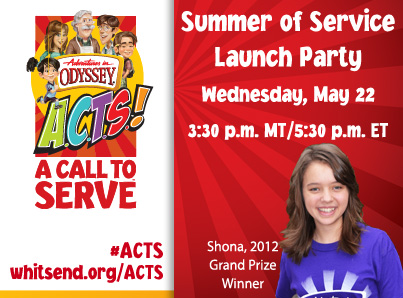 Adventures in Odyssey Summer of Service- Free…