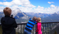 One gorgeous view in Banff National Park in Canada