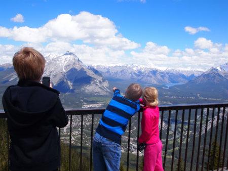 Gorgeous views in Banff