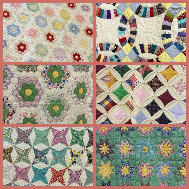 Traditional Hand Quilting Patterns : Admiring quilts at the quilt show - Mom s Toolbox