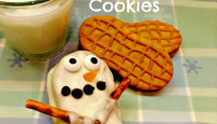 Nutter Butter Snowman Cookies & Best Party Recipes for Sharing