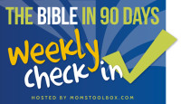 Bible in 90 Days: Week 10 Check In