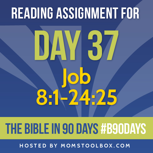 Bible in 90 Days Reading Assignment: Day 37 | MomsToolbox.com