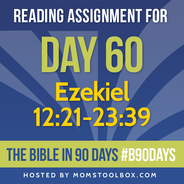 Bible in 90 Days Reading Assignment: Day 60 | MomsToolbox.com