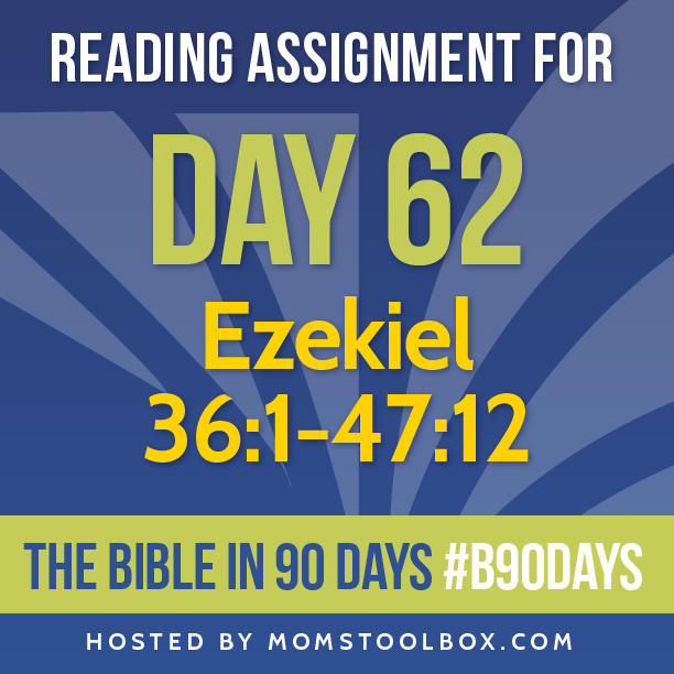 Bible in 90 Days Reading Assignment: Day 62 | MomsToolbox.com