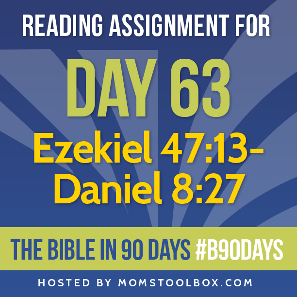 Bible in 90 Days Reading Assignment: Day 63 | MomsToolbox.com