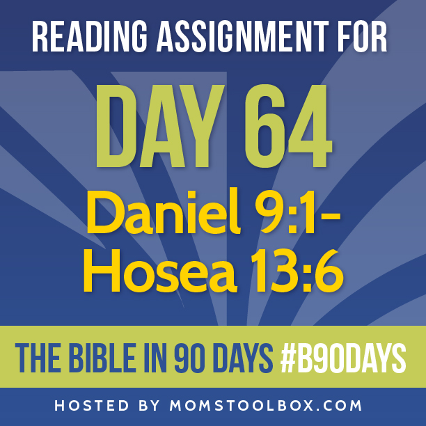 Bible in 90 Days Reading Assignment: Day 64 | MomsToolbox.com