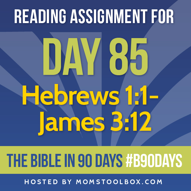 Bible in 90 Days Reading Assignment: Day 85 | MomsToolbox.com