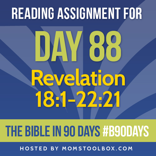 Bible in 90 Days Reading Assignment: Day 88 | MomsToolbox.com