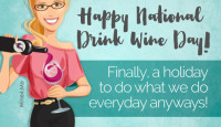 Happy National Drink Wine Day, friends!
