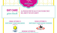 Eat delicious treats and support some great charities, thanks to Petite Sweets in Houston