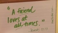 SOAP: Friendship