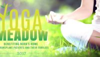 Yoga on the Meadow to benefit Nora's Home THIS Saturday in Houston