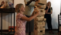 Drinking from the firehose of life… or balancing Giant Jenga